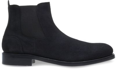 montague 1000 mile chelsea boot, black suede, dynamic ... FXSPBMK