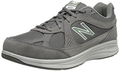 new balance walking shoes new balance menu0027s mw877 walking shoe,grey,7 … TQVYTMY