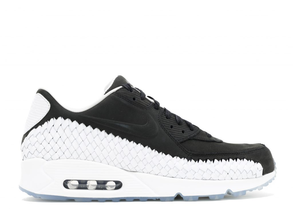 cec34cffb1 ... top quality nike air max 90 air max 90 woven black black white pr 6f667  9c3c3