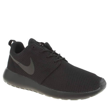 nike black trainers nike roshe one 1 ... FDOASIK