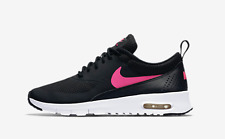 nike girls shoes brand new nike air max thea gs youth girlu0027s shoes 814444-001 black hyper  pink YWGKTKR