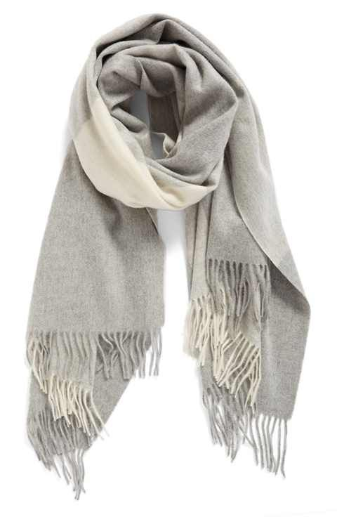 nordstrom collection plaid cashmere scarf DPTLYCT