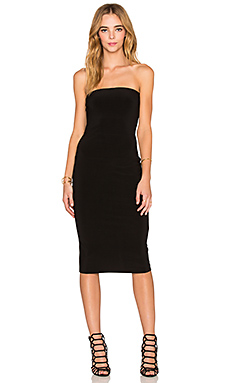 norma kamali strapless dress in black | revolve QVAUSPX
