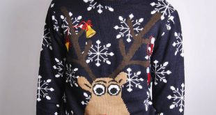 novelty christmas jumpers mens novelty rudolph christmas jumper VVZSDYE