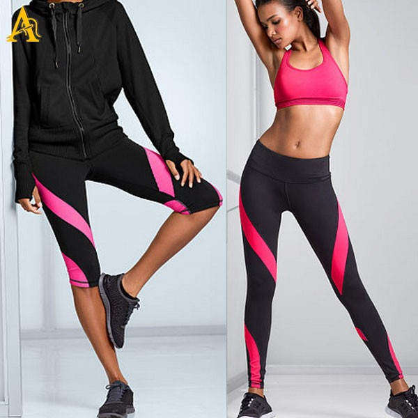 nylon spandex sexy gym wear u0026ladies sexy gym wear pants - buy dri fit women SERVOGT