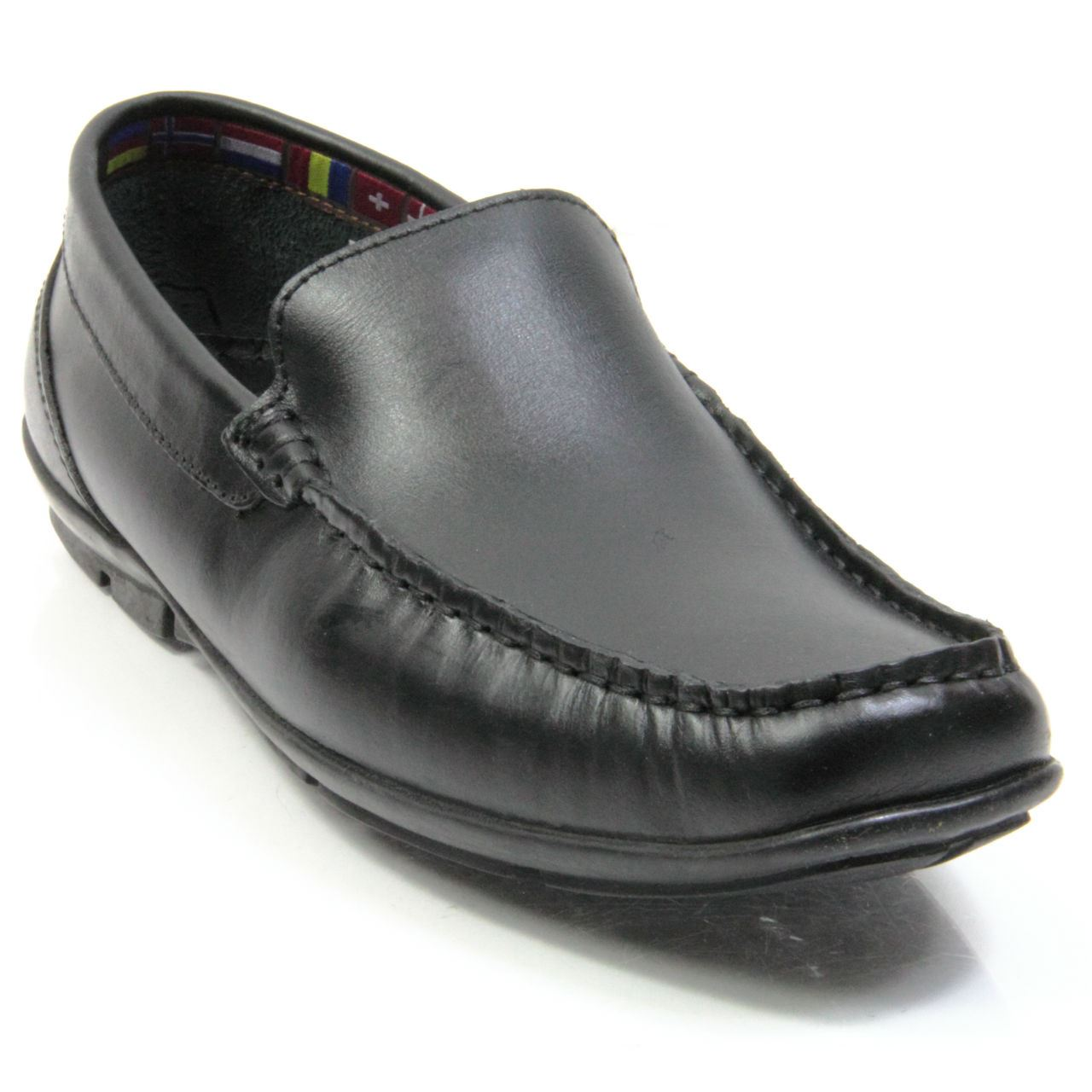 office shoes mens-smart-leather-slip-on-loafers-trainer- UCFNXSI