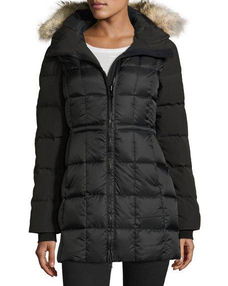parka coats beechwood fur-hood parka jacket ZZCGZWB
