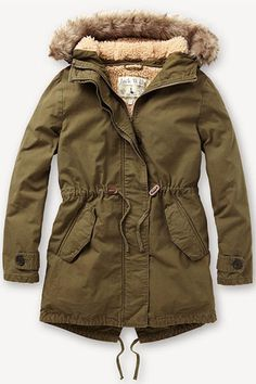 parka coats fresh coats: 10 winter coat trends under $300: parka recreation. jack wills  parka ZBOTGKP