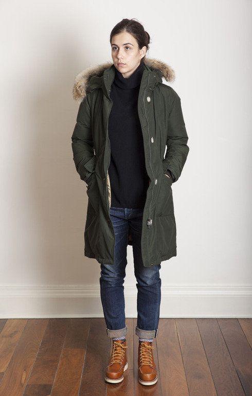 parka coats wu0027s charlotte bomber tenkara green. green coatmilitary jacketparka EAUMNUB