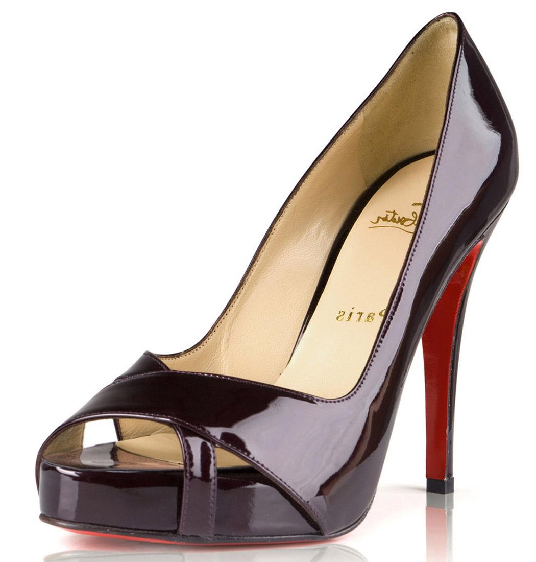 peep toes christian louboutin peep-toes dark red, cheap christian louboutin,christain  louboutin,finest UHJBXDU