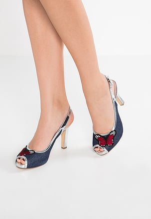 peep toes - jeans NSRSCQL