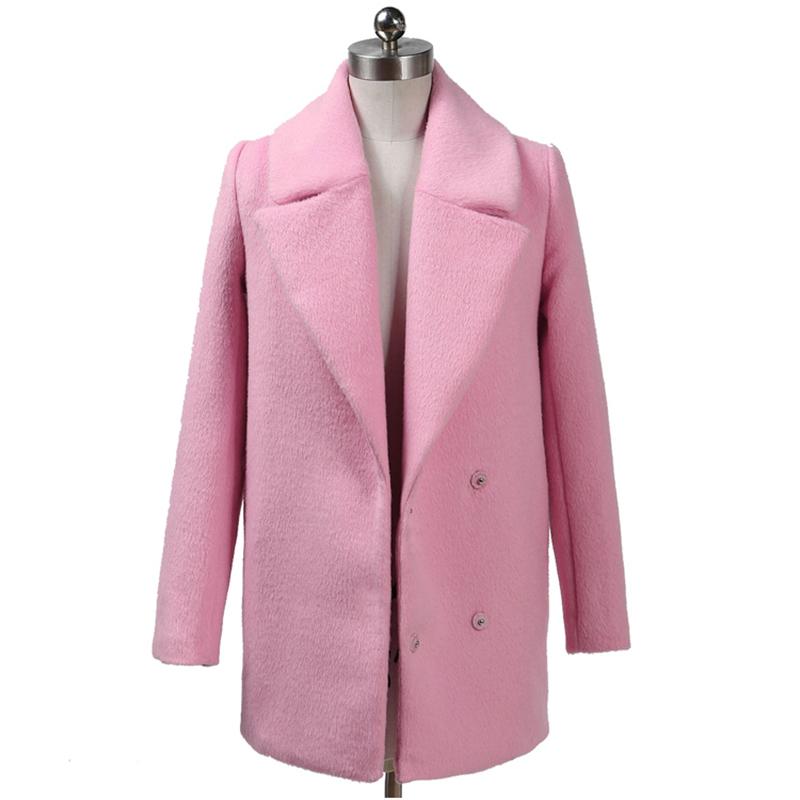 pink ladies coats OERUQZJ