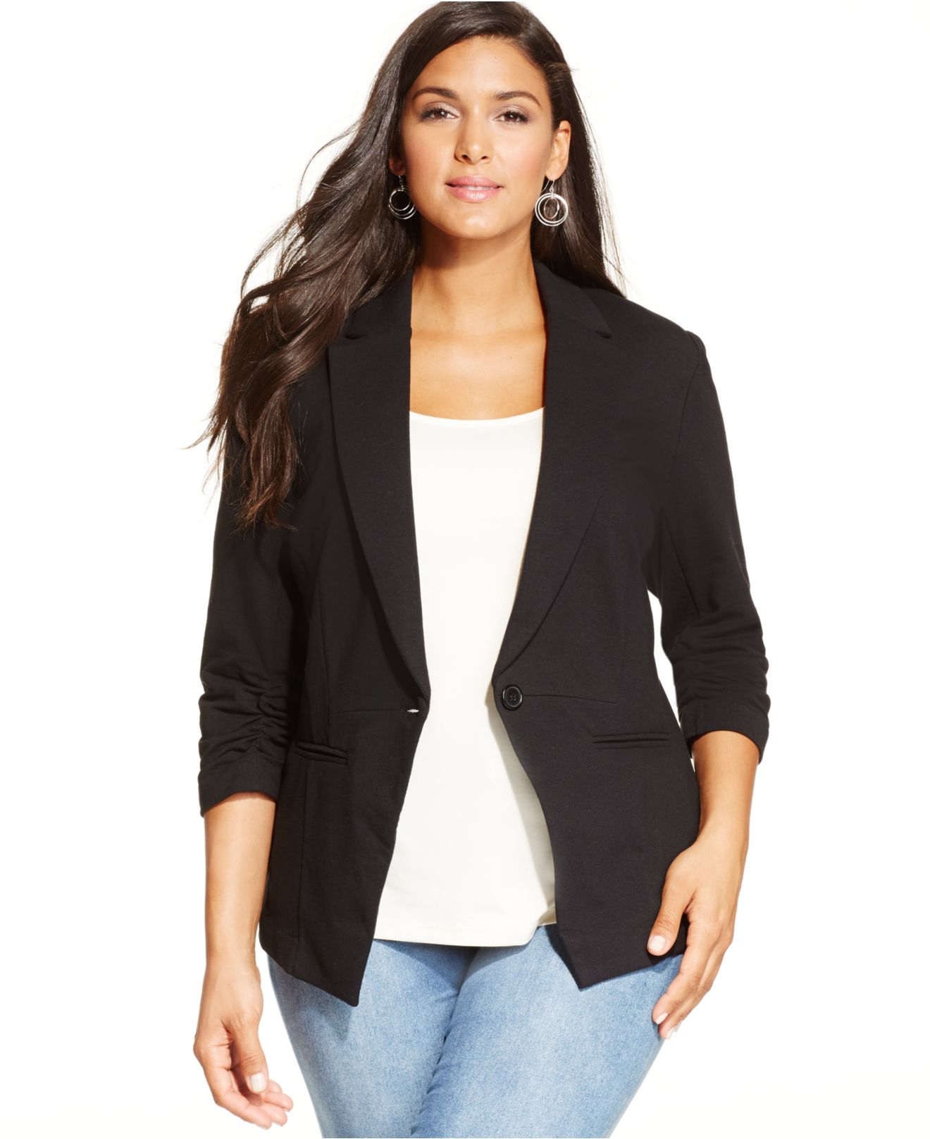 Buying the plus size blazers