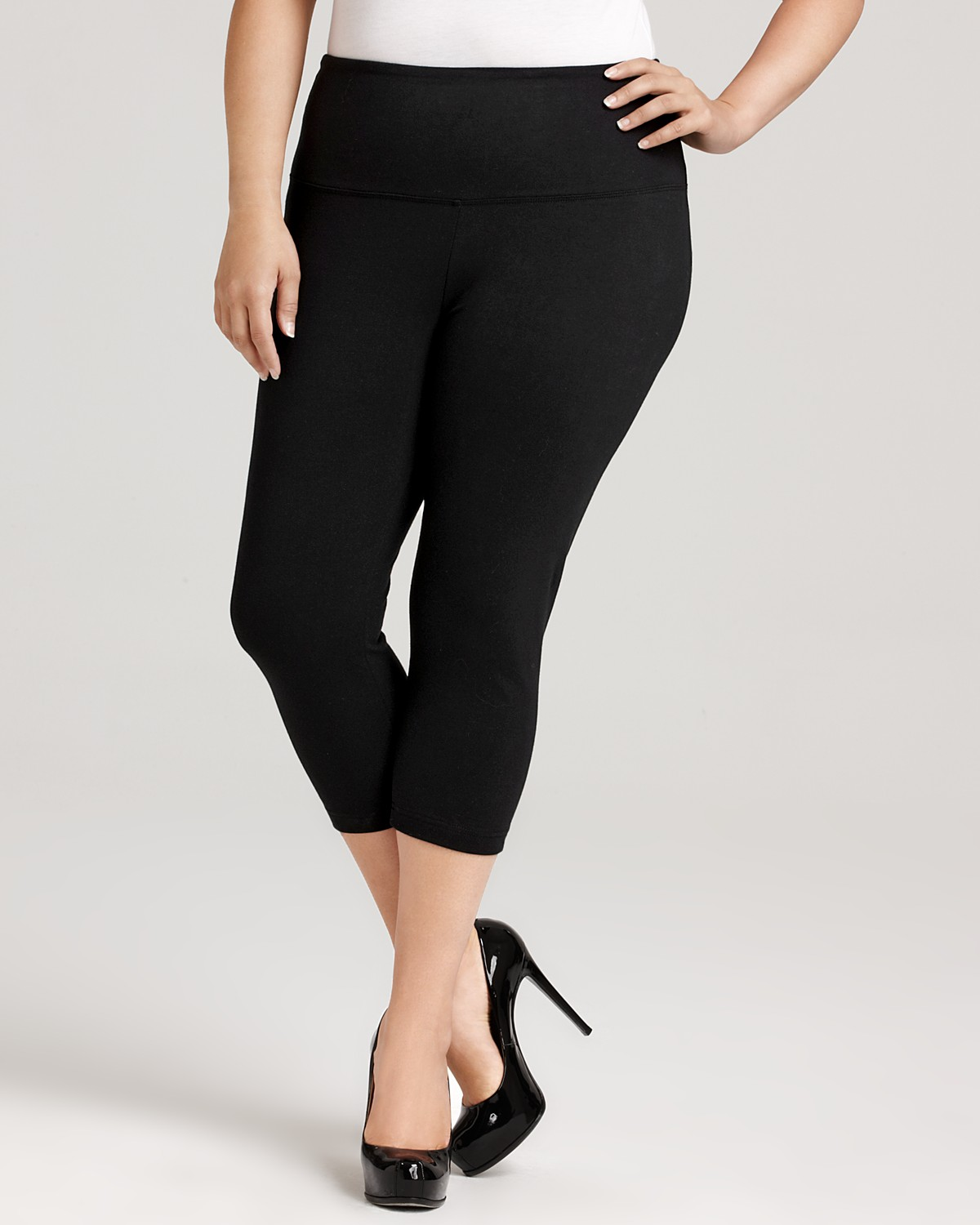 plus size capri leggings OQCKLZV