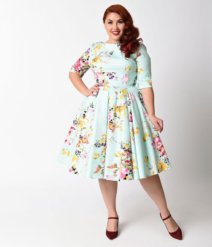 plus size dress cute plus size retro dresses for sale IVCIWTB