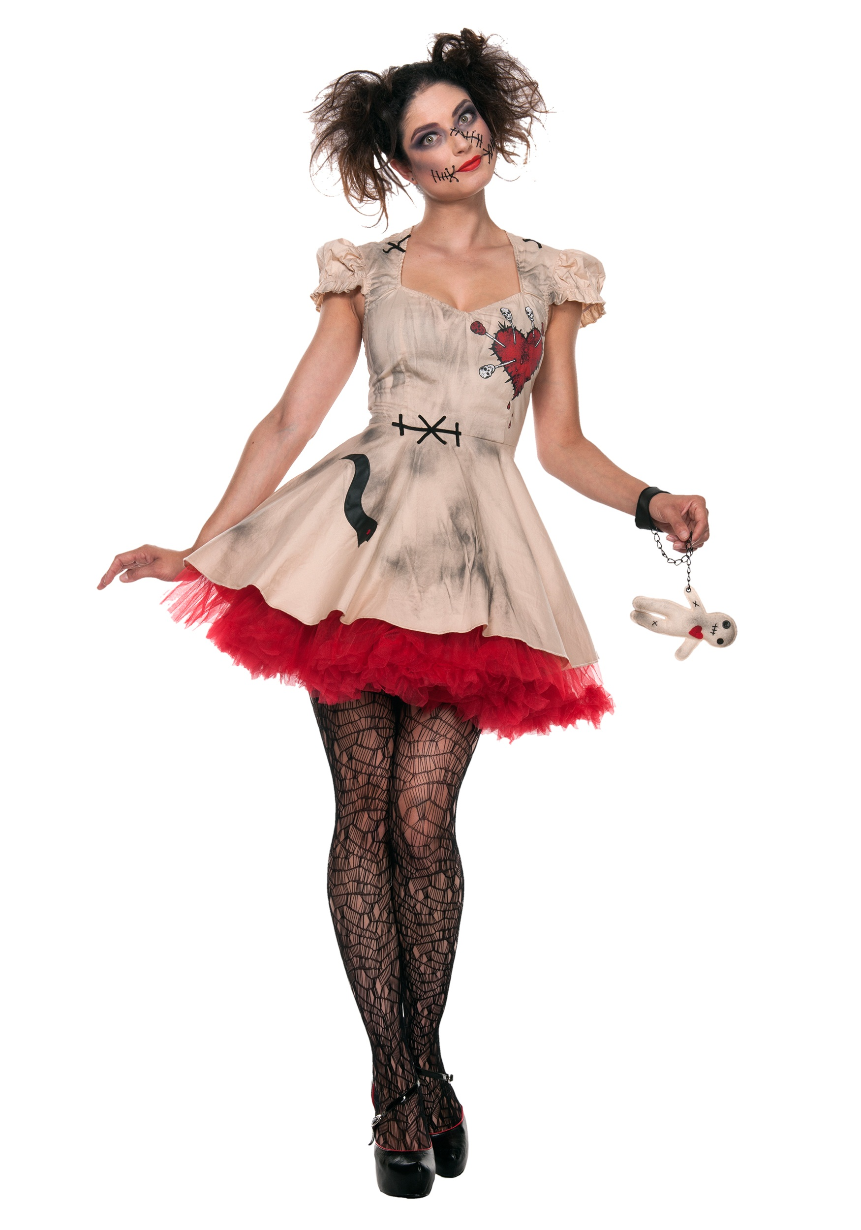 plus size halloween costumes womens plus size voodoo doll costume TVDRPLI