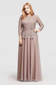 Plus Size Mother Dresses