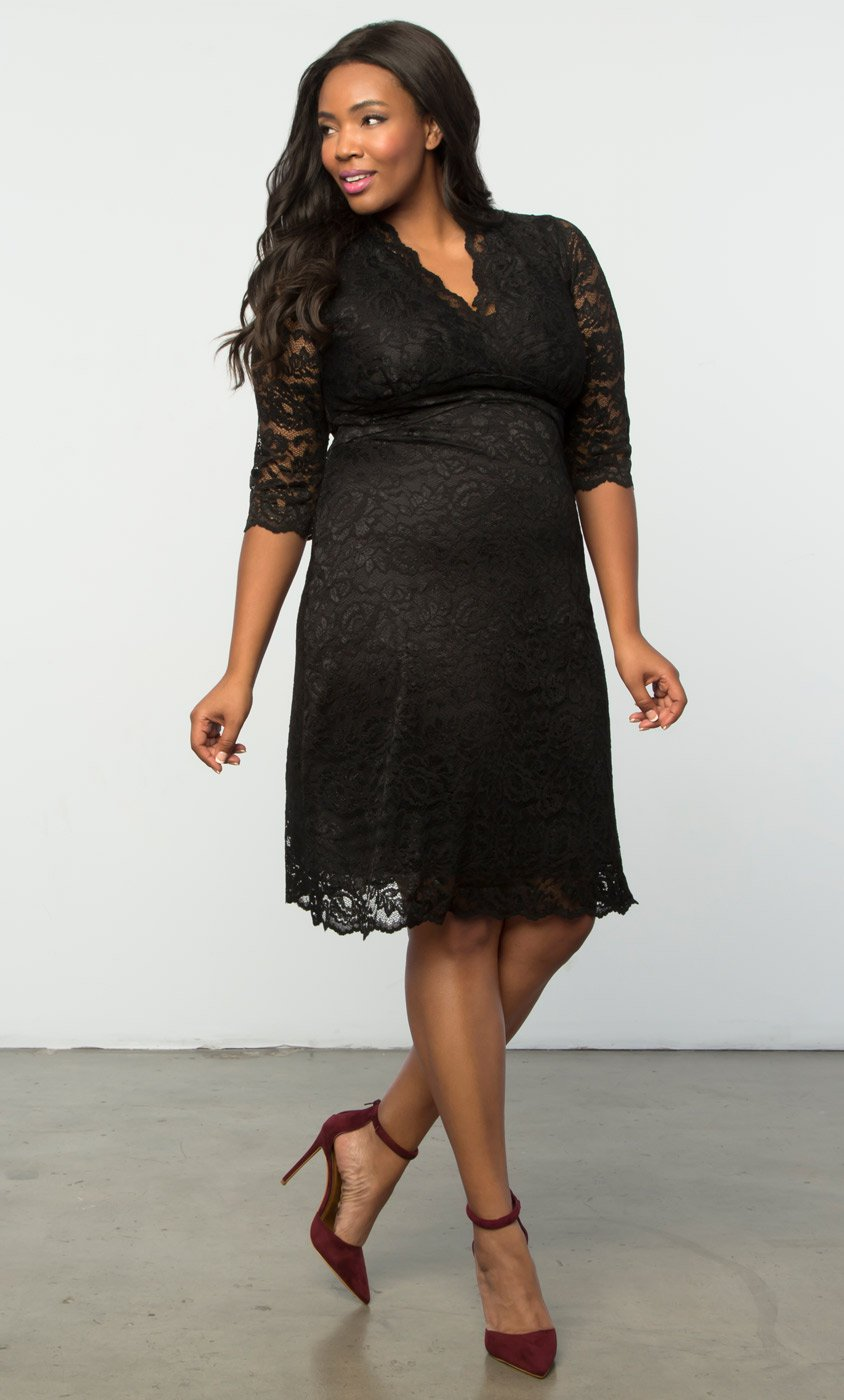 plus size special occasion dresses plus size lace dresses | scalloped boudoir lace dress by kiyonna HYPMFHH