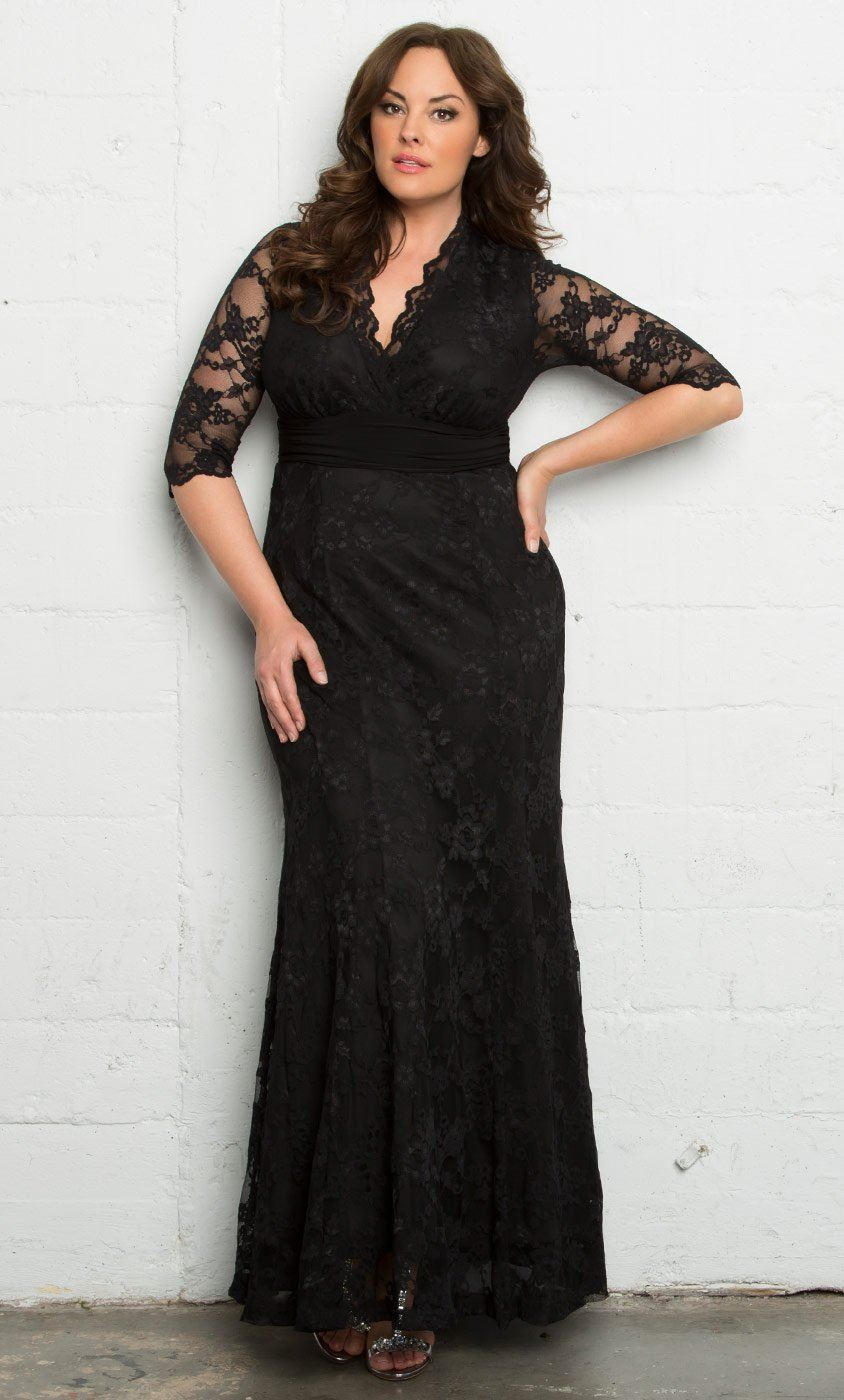 How to pick plus size special occasion dresses ... - photo #14