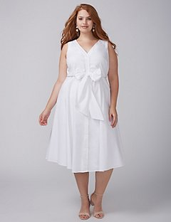plus size white dress online exclusive IJNUCVJ