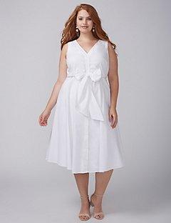 plus size white dress online exclusive IJNUCVJ