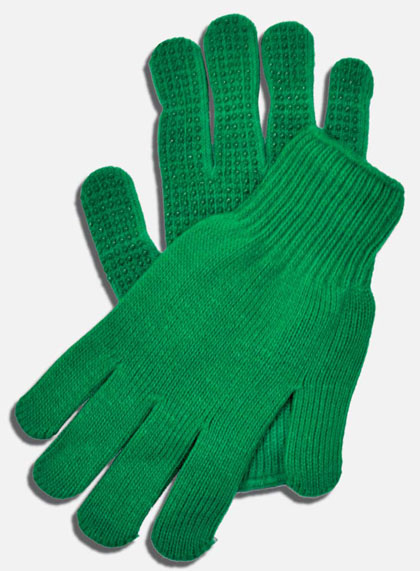 promotional seamless knit gloves JECUTPS