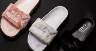 Puma slippers puma x fenty fur slides. @littledreambird HEUISQU