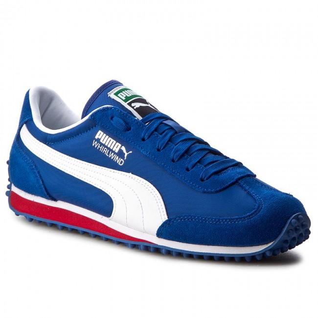 Puma whirlwind sneakers puma - whirlwind classic 351293 83 true blue/puma white UFUSZCG