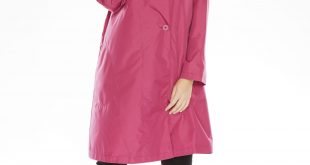 raincoats for women packable water-resistant hooded raincoat with zip bag TIAXSHY