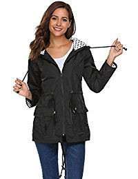 raincoats for women unibelle waterproof lightweight rain jacket active outdoor hooded raincoat  for women LEIUSHV