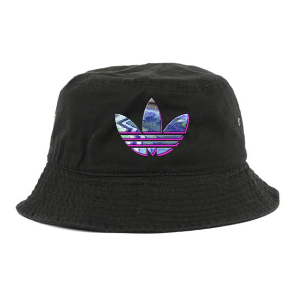 rare retro adidas bucket hat (1,225 thb) ❤ liked on polyvore featuring  accessories, FYKGKDH