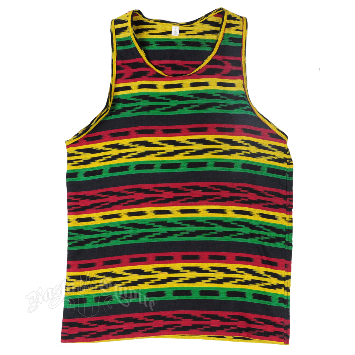 rasta u0026 reggae knitted tank top - menu0027s VDYACAC