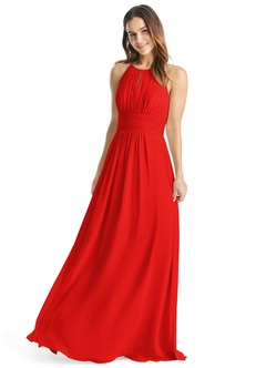red bridesmaid dresses azazie bonnie azazie bonnie KOUTUEJ