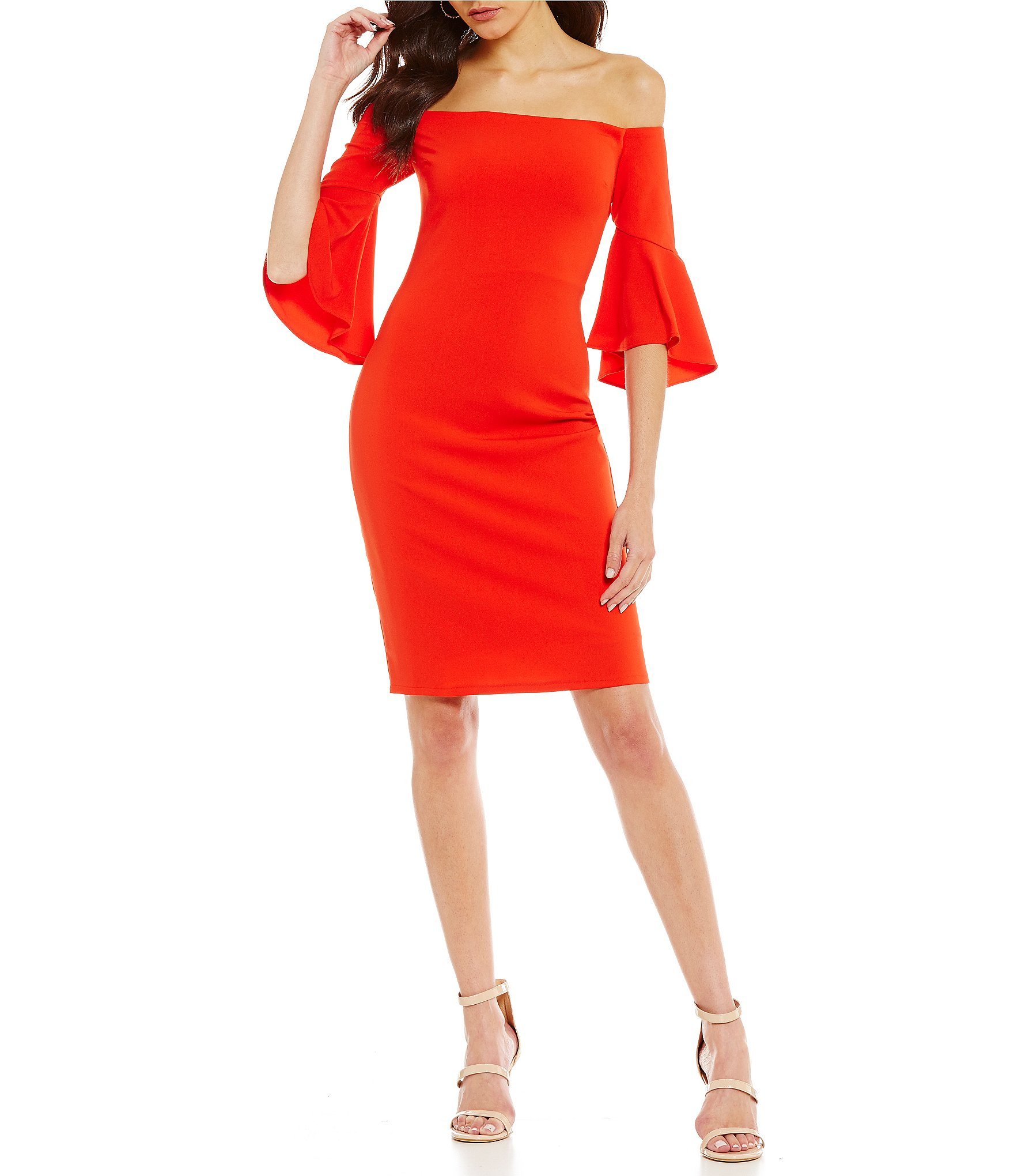 red cocktail dress red womenu0027s cocktail u0026 party dresses | dillards ZPMMOAD