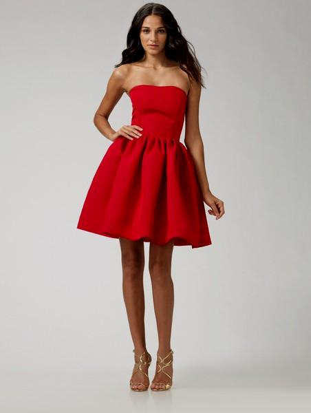 red cocktail dress zoom FGFMXCF