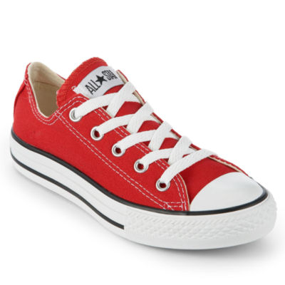 red converse converse chuck taylor all star kids sneakers - little kids EWGZIFI
