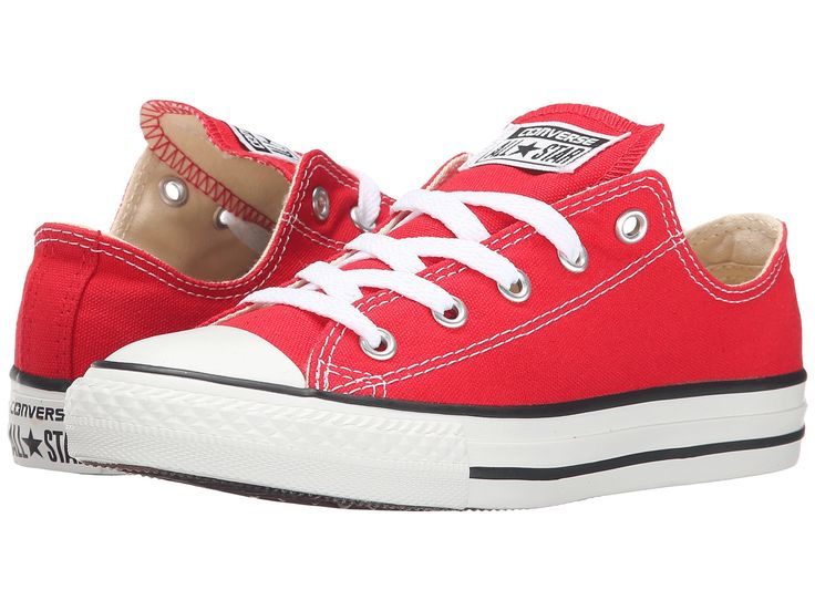 red converse converse chuck taylor ox kids | red (3j236) FDIYVSK
