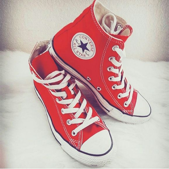 red converse high-tops NBPDHSS