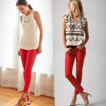Create a striking and long lasting impression on people by wearing these red jeans