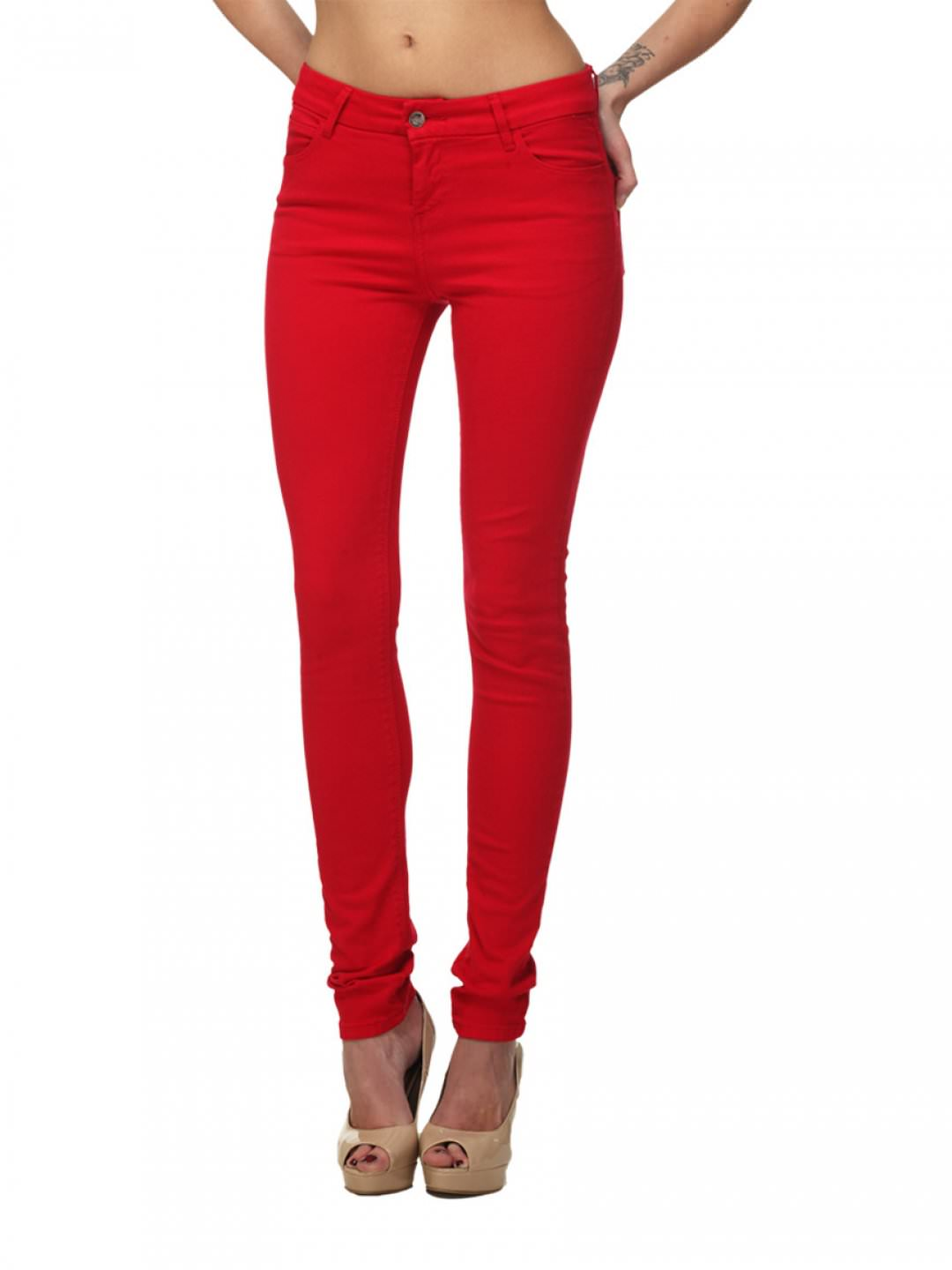 red jeans on the hunt OWPGAGA