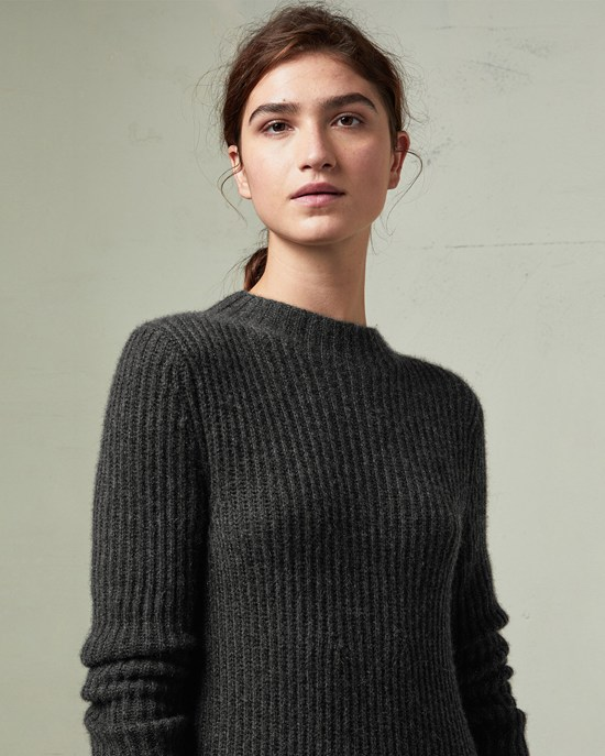 ribbed knitted dress RZSFMXC