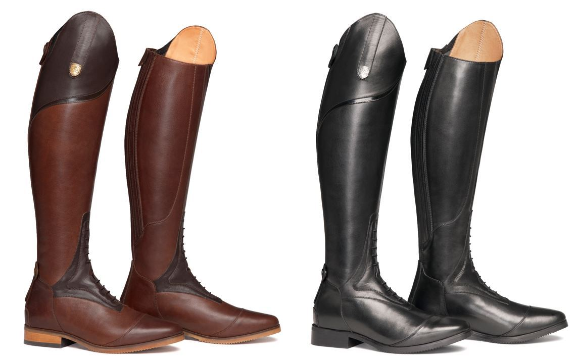 riding boots image is loading mountain-horse-sovereign-high-rider-leather-competition- riding- ZHEUAVU