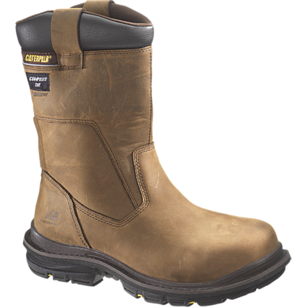 rigger boots cat olton safety rigger boot - brown« back SHRWXLN