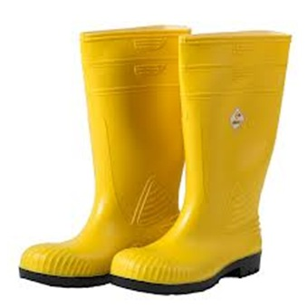 safety boots pvc safety boot with toe cap FVKMBYW