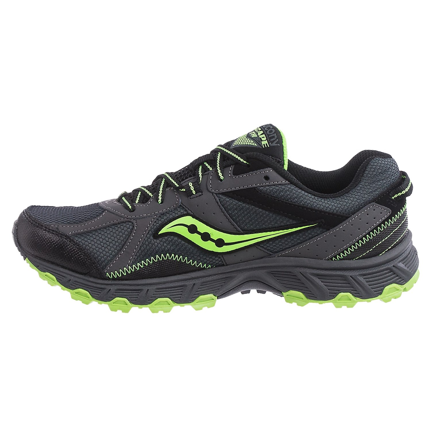 saucony running shoes saucony grid escape trail running shoes (for men) JSFKNHU