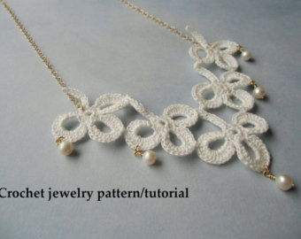 shamrock crochet jewelry patterns - instant download pdf. GNCOCXZ
