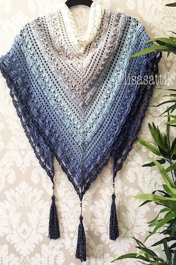 Shawl Patterns 6 free knitting u0026 crochet shawl patterns YRUTJIU