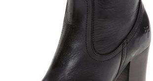 short boots frye womenu0027s parker short boot, black, ... MHFFTGU