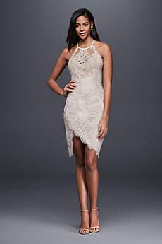 short wedding dress short sheath beach wedding dress - saylor VZOBLGW