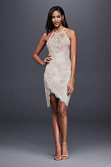 short wedding dresses short sheath beach wedding dress - saylor SBTQCUQ
